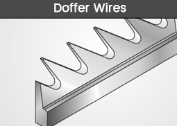 Doffer-Wires