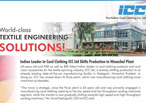 Indian Leader in Card Clothing ICC Ltd Shifts Production to Himachal Plant-preview