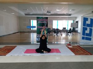 Employees celebrated Yoga day with lot of enthusiasm at Nalagarh Plant