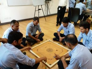 Carrom Competition.