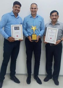 Awarded as Best Company to Work For.