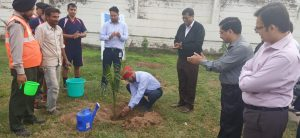 Plantation of sapling by Kamaljeet  Singh – VP Operation