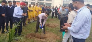 Plantation of sapling by Darshan Sheth