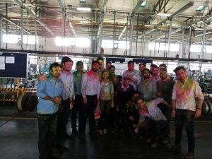 Holi Celebration at Nalagarh, Plant