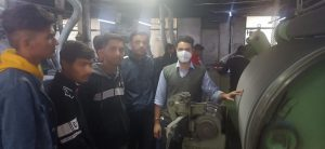 Industrial Visit by Government Polytechnic Students